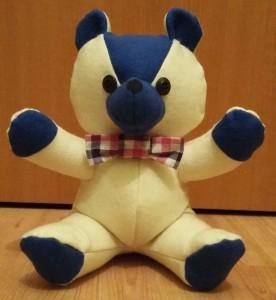 Teddybär mit Fliege