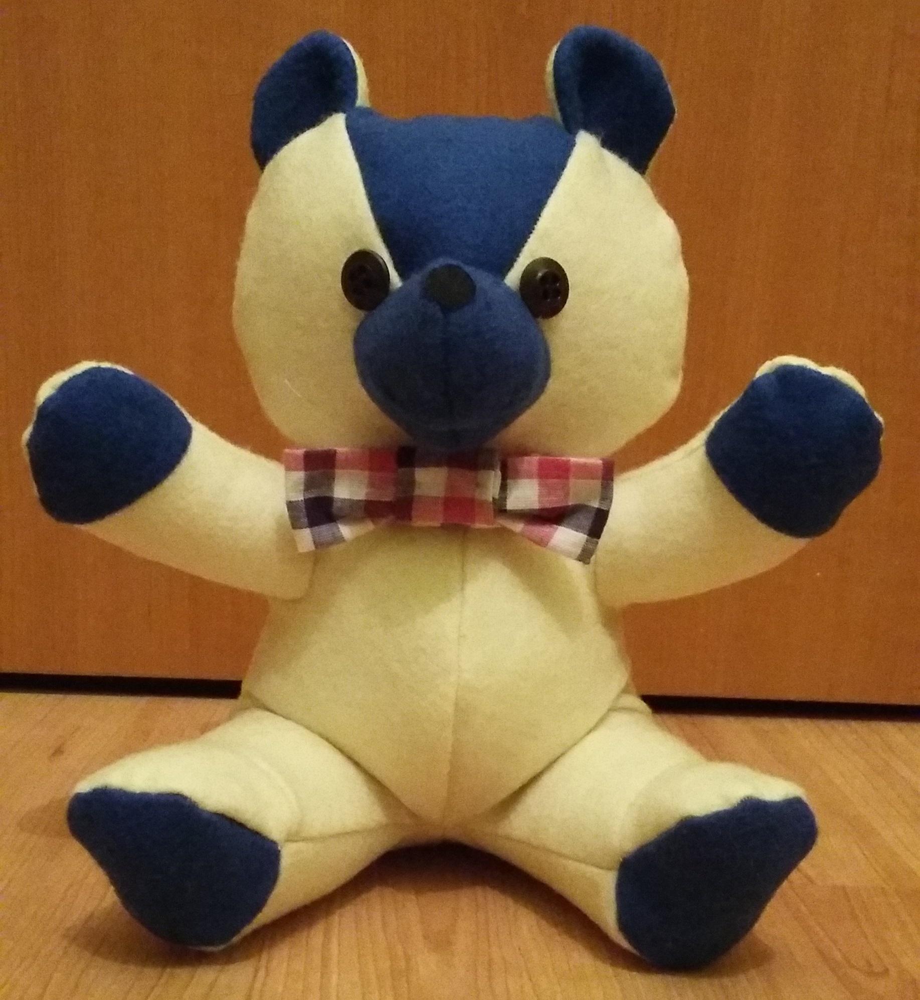 Teddybär nähen – Anleitung | Minis Nähkiste